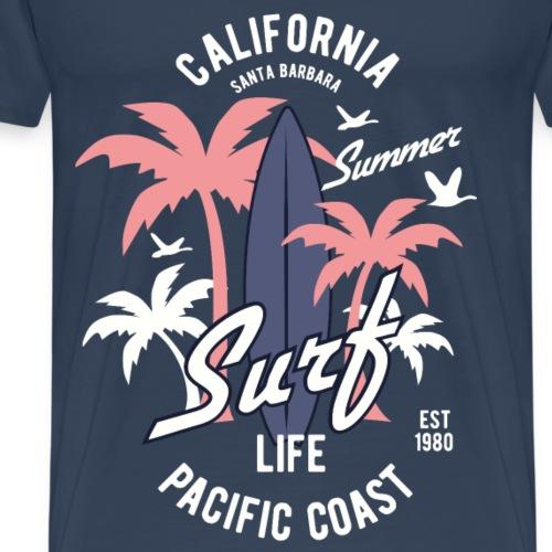 California Surf - Männer Premium T-Shirt