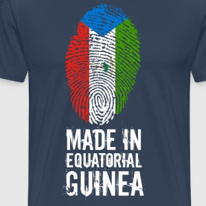 Made In Equatorial Guinea / Ekvatorial-Guinea - Premium T-skjorte for menn