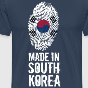 Made In South Korea / Südkorea / 대한민국, 大韓民國 - Männer Premium T-Shirt