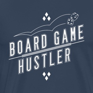 Board Game Hustler - Premium T-skjorte for menn