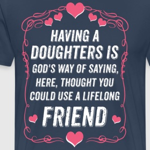 daughter heart - Men's Premium T-Shirt