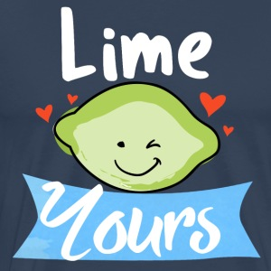 lime yours - Men's Premium T-Shirt
