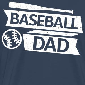 Baseball Dad - Premium-T-shirt herr
