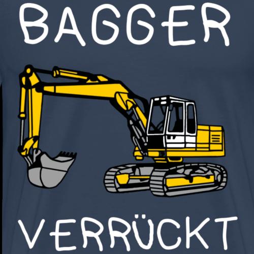 Bagger - Verrückt - Männer Premium T-Shirt