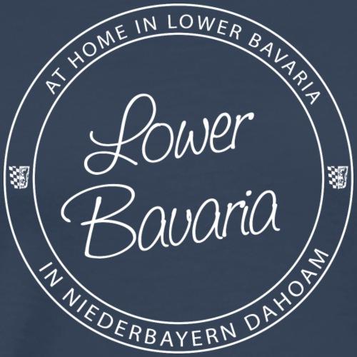 Lower Bavaria White - Männer Premium T-Shirt