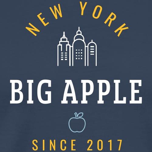 NEW YORK - BIG APPLE - Maglietta Premium da uomo