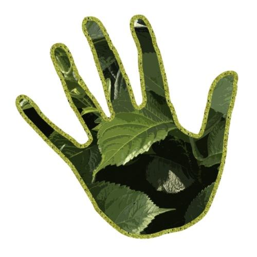 Hand green - Maglietta Premium da uomo