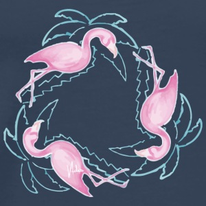 Tempo Flamingo - Männer Premium T-Shirt
