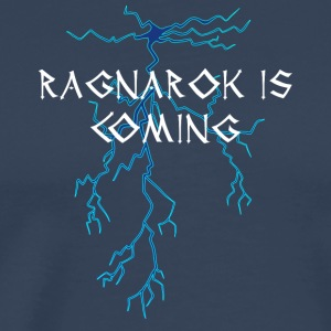 Vikings: Ragnarok Is Coming - Mannen Premium T-shirt