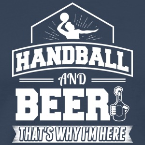 HANDBALL AND BEER - Männer Premium T-Shirt