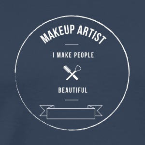 Make-up Artist - Mannen Premium T-shirt