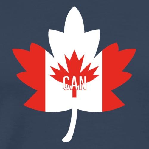 Canadalogo - Miesten premium t-paita