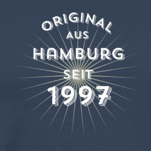 Original from Hamburg since 1997 - Men's Premium T-Shirt