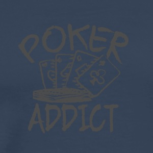 Poker addictive - Men's Premium T-Shirt