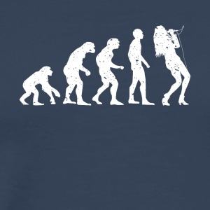 EVOLUTION SINGER! - Men's Premium T-Shirt