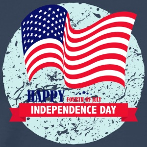 Independence Day USA juli 4 - Herre premium T-shirt