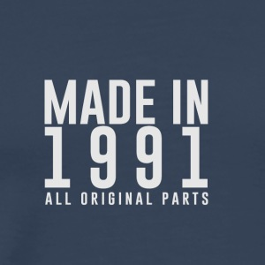 MADE IN 1991 - VERJAARDAG - Mannen Premium T-shirt