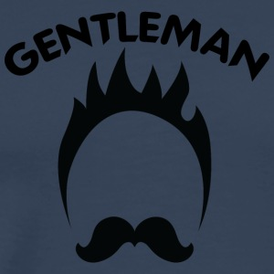 GENTLEMAN black - Men's Premium T-Shirt