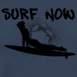 surfer girl 3 black - Men's Premium T-Shirt