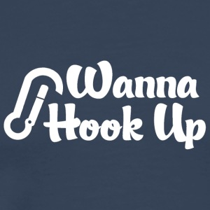 Rock Climber Vill Hook Up - Premium-T-shirt herr