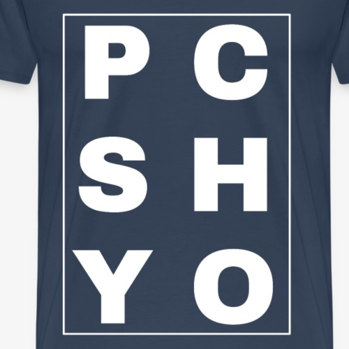 Psychobilly Psycho Lettering - Men's Premium T-Shirt