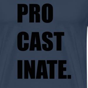ProcastinatePNG - Premium-T-shirt herr