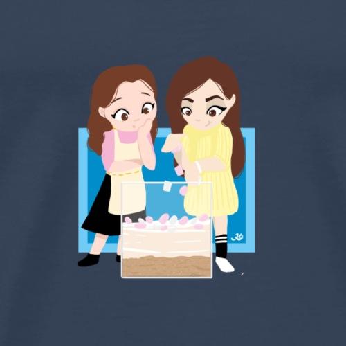 Dessertie 5 - Mannen Premium T-shirt