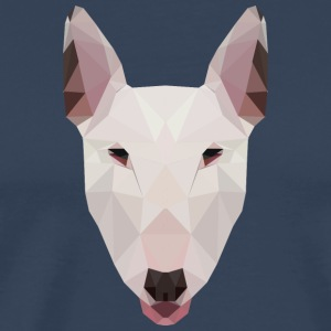 English Bull Terrier Artwork - Men's Premium T-Shirt