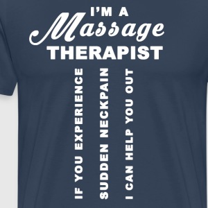 Massage Therapist - Men's Premium T-Shirt