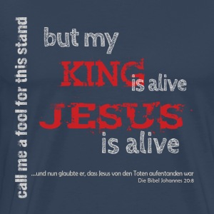 Jesus is alive - Männer Premium T-Shirt