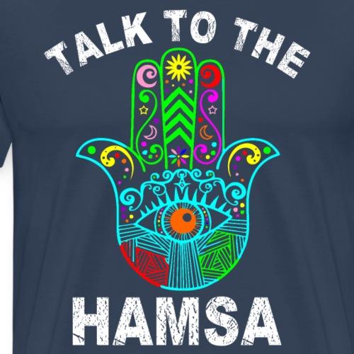 La Mano de Fátima o Jamsa - Camiseta premium hombre