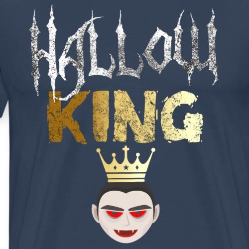 Vampiro Rey de Halloween - Camiseta premium hombre