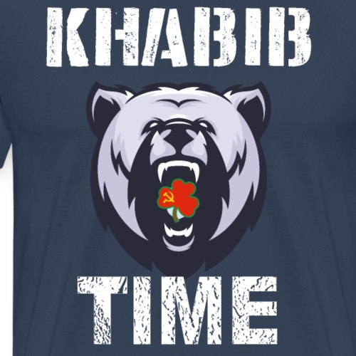Khabib Nurmagomedov TIME MMA - Camiseta premium hombre