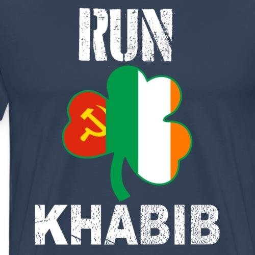 Corre Khabib Nurmagomedov Contra Conor - Camiseta premium hombre