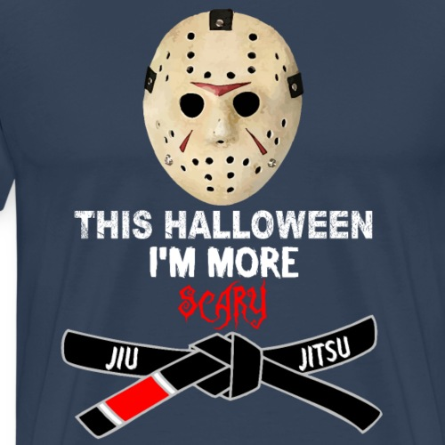HALLOWEEN Jason Jiu Jitsu Master - Camiseta premium hombre