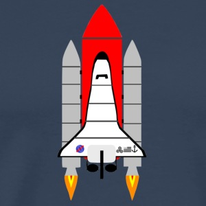 spaceshuttle - Mannen Premium T-shirt
