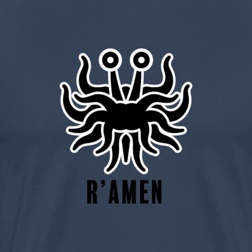 R'Amen, with stroke - Mannen Premium T-shirt