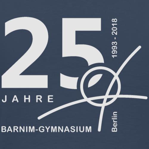 25 Jahre Barnim Gymnasium - Männer Premium T-Shirt