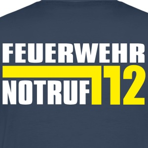 Fire Emergency Department 112 - Mannen Premium T-shirt