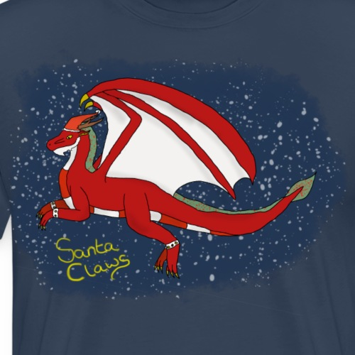 Santa Claws - Men's Premium T-Shirt