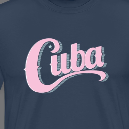 CUBA VINTAGE Tee Shirt - Men's Premium T-Shirt