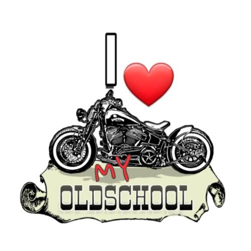 I LOVE MY Oldschool Bike