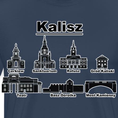 Kaliskie Zabytki - Koszulka męska Premium
