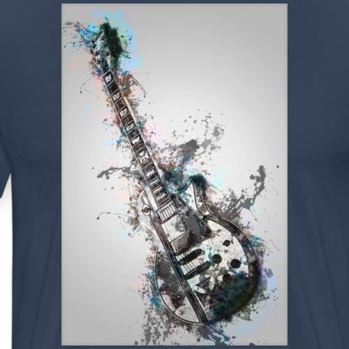 Guitare - T-shirt Premium Homme