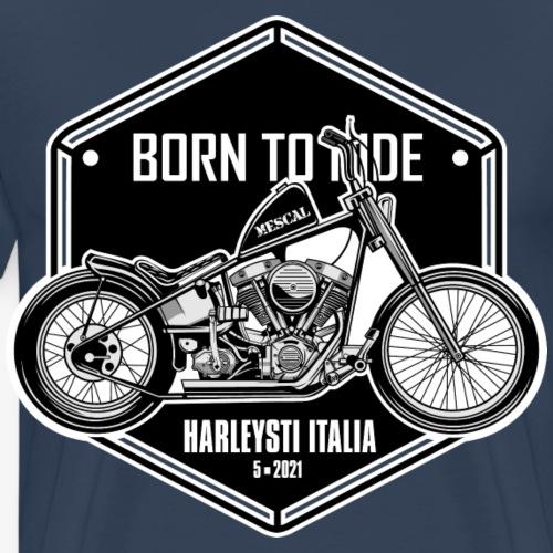 Born to Ride - Vintage motorbike - Maglietta Premium da uomo