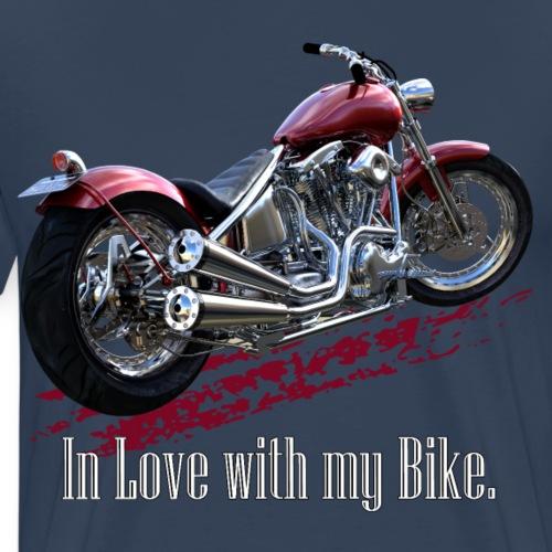 In Love with my Bike - Männer Premium T-Shirt