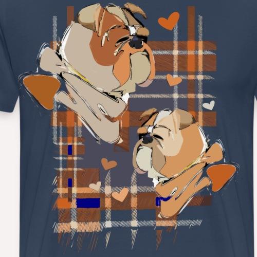 Bulldogs - Männer Premium T-Shirt
