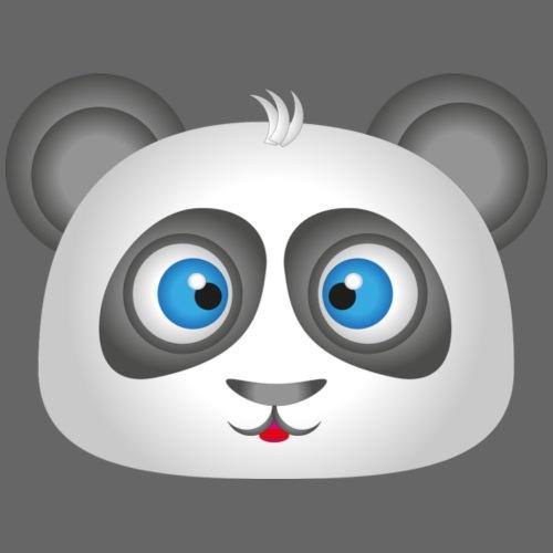 panda head / cabeza de panda 2 - Camiseta premium hombre