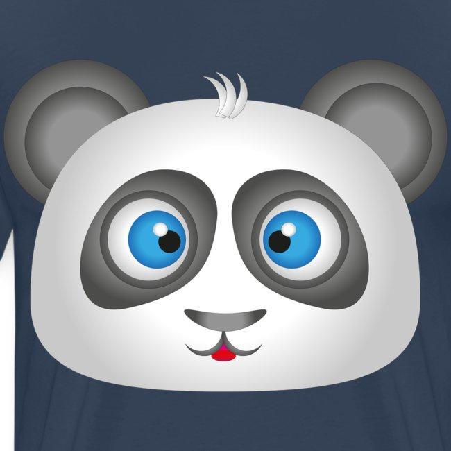panda head / cabeza de panda 2