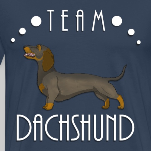 Team Dachshund - Wirehaired Wild Boar - T-shirt Premium Homme
